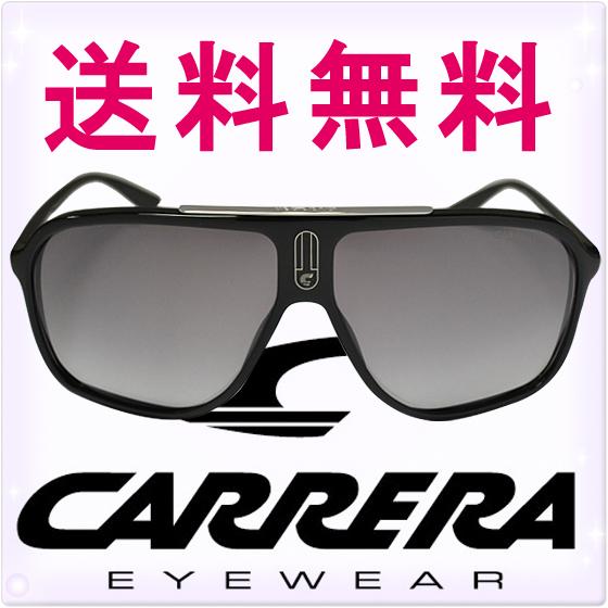 CARRERA カレラ サングラス シャイニーブラック/グレー [Carrera 6016/S 0d28ic][sunglasses メガネ 眼鏡 黒][ケースセット][メンズ レディース ユニセックス][セレブ着用モデル ハリウッド][ブランド][送料無料]カレラ サングラス