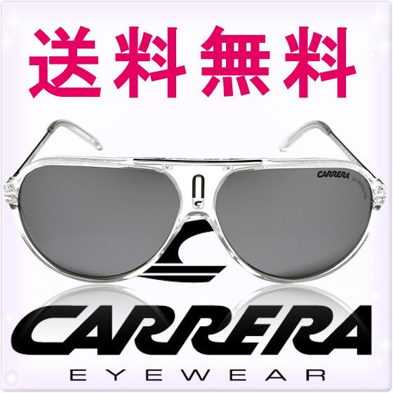 CARRERA カレラ サングラス ホット クリスタル/シルバーミラー[HOT/S 0gkzdc][CRYSTAL/SILVER MIRROR][sunglasses メガネ 眼鏡 クリア][ケースセット][メンズ レディース ユニセックス][セレブ着用モデル ハリウッド][ブランド]カレラ サングラス