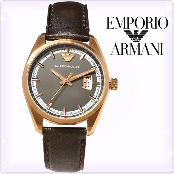 【新品】エンポリオアルマーニ 時計[EMPORIO ARMANI AR6024]メンズ 腕時計 スポルティーボ[ゴールド×茶][エンポリ うでどけい ウォッチ 時計][送料無料]ブランド スポーティボ