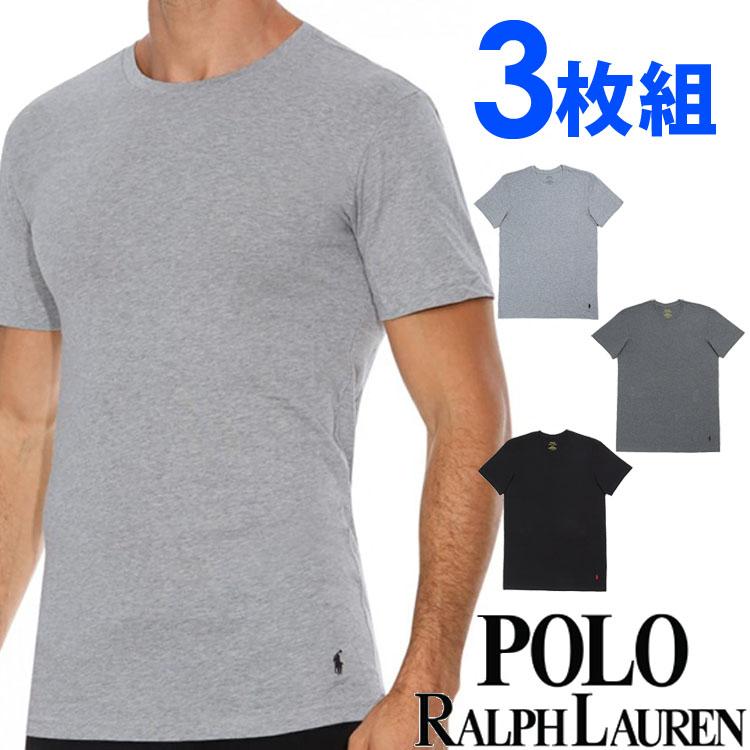 POLO RALPH LAUREN ポロ ラルフローレン tシャツ メンズ クルーネック 3枚セット ラルフローレン Tシャツ ラルフtシャツ[RCCNP3 /LCCN]