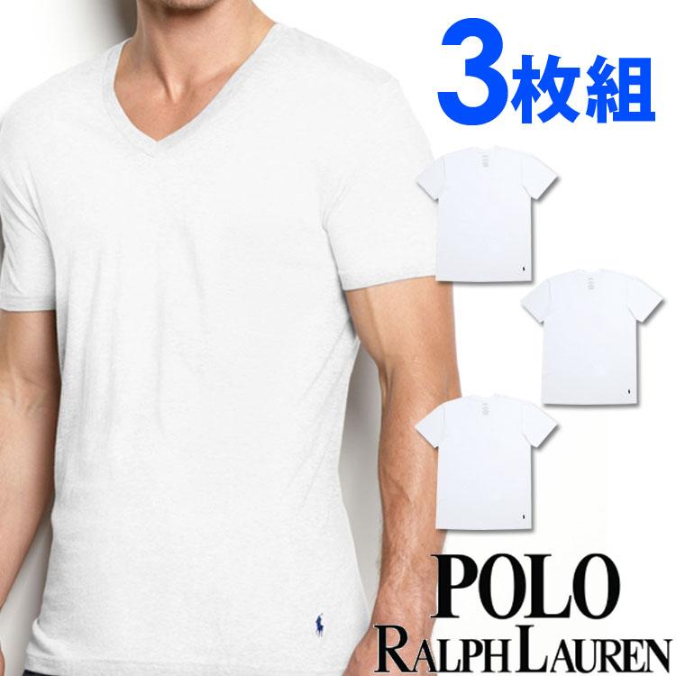POLO RALPH LAUREN ポロ ラルフローレン tシャツ メンズ Vネック 3枚セット ラルフローレンTシャツ ラルフtシャツ [RCVNP3 /LCVN]