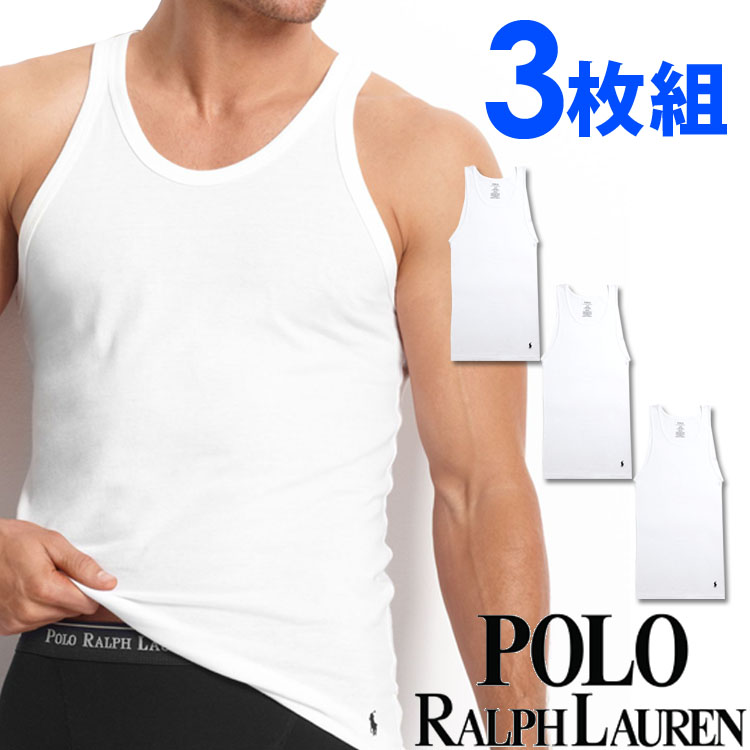 POLO RALPH LAUREN ポロ ラルフローレン メンズ タンクトップ 3枚セット ラルフローレンタンクトップ[RCTKP3 /LCTK]