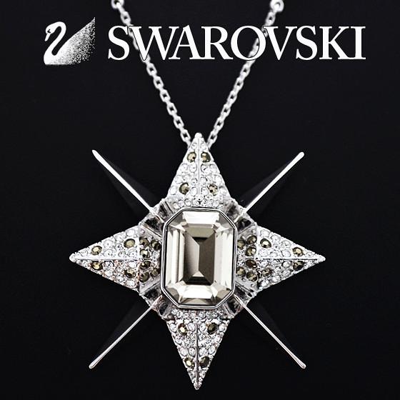 SWAROVSKI スワロフスキー ネックレス ペンダント クリスタル プリズム シルバー ネックレス[1110410][Crystal Prism Necklace][レディース 女性用 ペンダント アクセサリー SILVER][ブランド ネックレス 首飾り ジュエリー][送料無料]