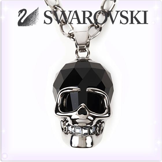 SWAROVSKI スワロフスキー ネックレス ペンダント スカル [1111588][Necklace The Skull][レディース 髑髏 ドクロ シルバー][ブランド ネックレス 首飾り ジュエリー アクセサリー][送料無料]