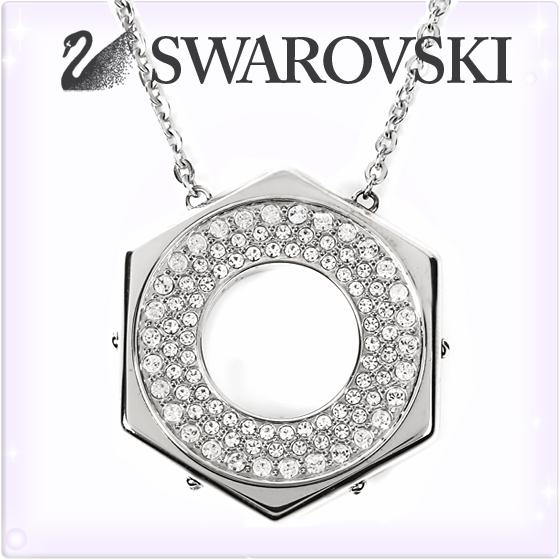 SWAROVSKI スワロフスキー ネックレス ペンダント ボルト モチーフ ネックレス [5096635][Bolt Pendant][クリスタル シルバー 銀][ブランド ネックレス 首飾り ジュエリー ペンダント アクセサリー][送料無料]