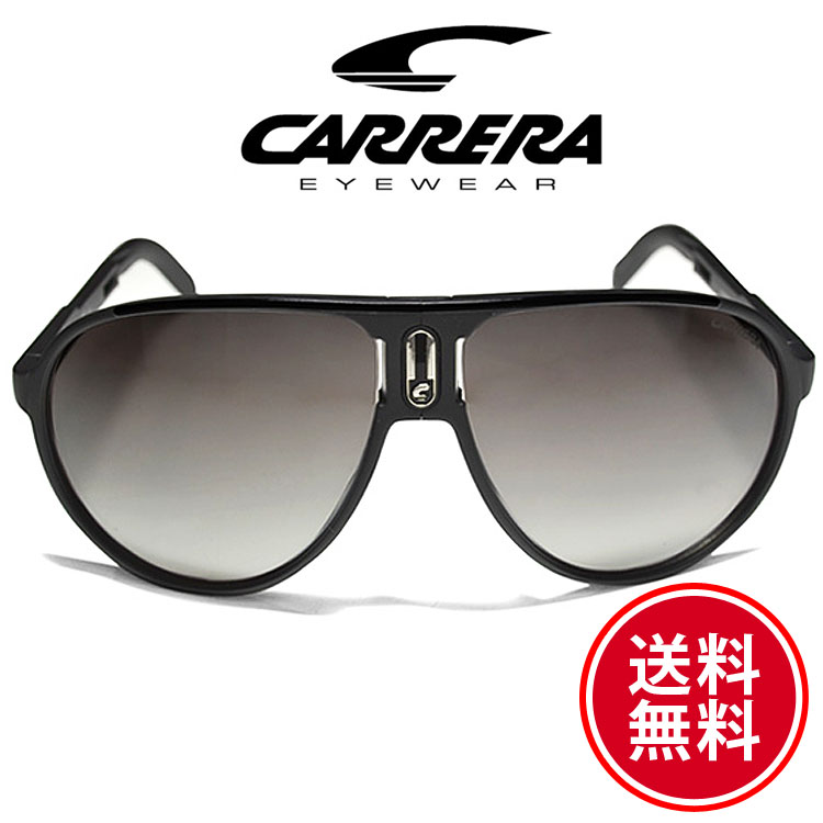 CARRERA カレラ サングラス チャンピオン フォールド マットブラック/グレーミラーグラデーション 折りたたみ式[Champion/FOLD/S 0DL5][MatteBlack/GreyMirrorGradient][sunglasses 眼鏡][ケースセット][メンズ/レディース][送料無料]ブランド カレラ サングラス