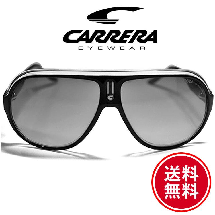 CARRERA カレラ サングラス スピードウェイ ブラッククリスタルシルバー/グレーグラデーション [SPEEDWAY/S 0KE4IC][sunglasses メガネ 眼鏡][ケースセット][メンズ/レディース][セレブ着用 ハリウッド][ブランド][送料無料]ブランド