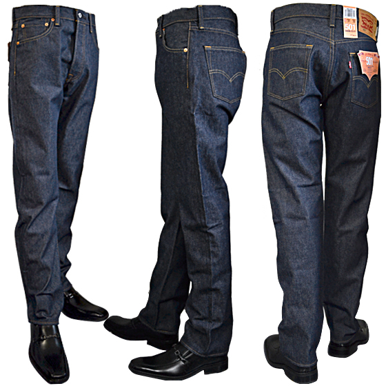 e5748c77141 Levi's Levis 501 button fried food rigid jeans 00501-0000. Non-washing raw  denim (Shrink-To-Fit). mainimage1