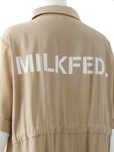 MILKFEDミルクフェド TUNIC SHIRTc3J5lF1uTK