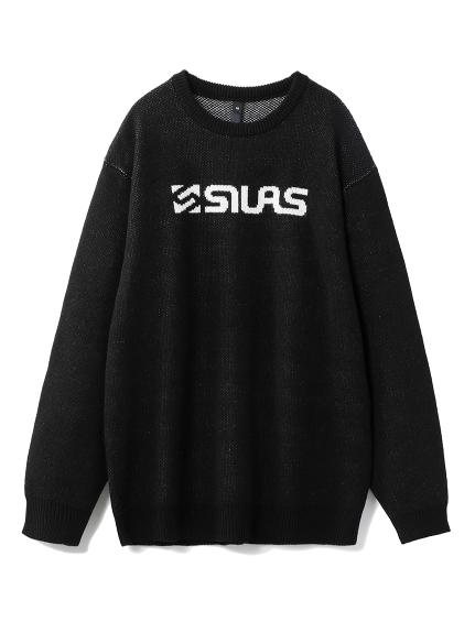 SILAS(サイラス)JACQUARD LOGO SWEATER