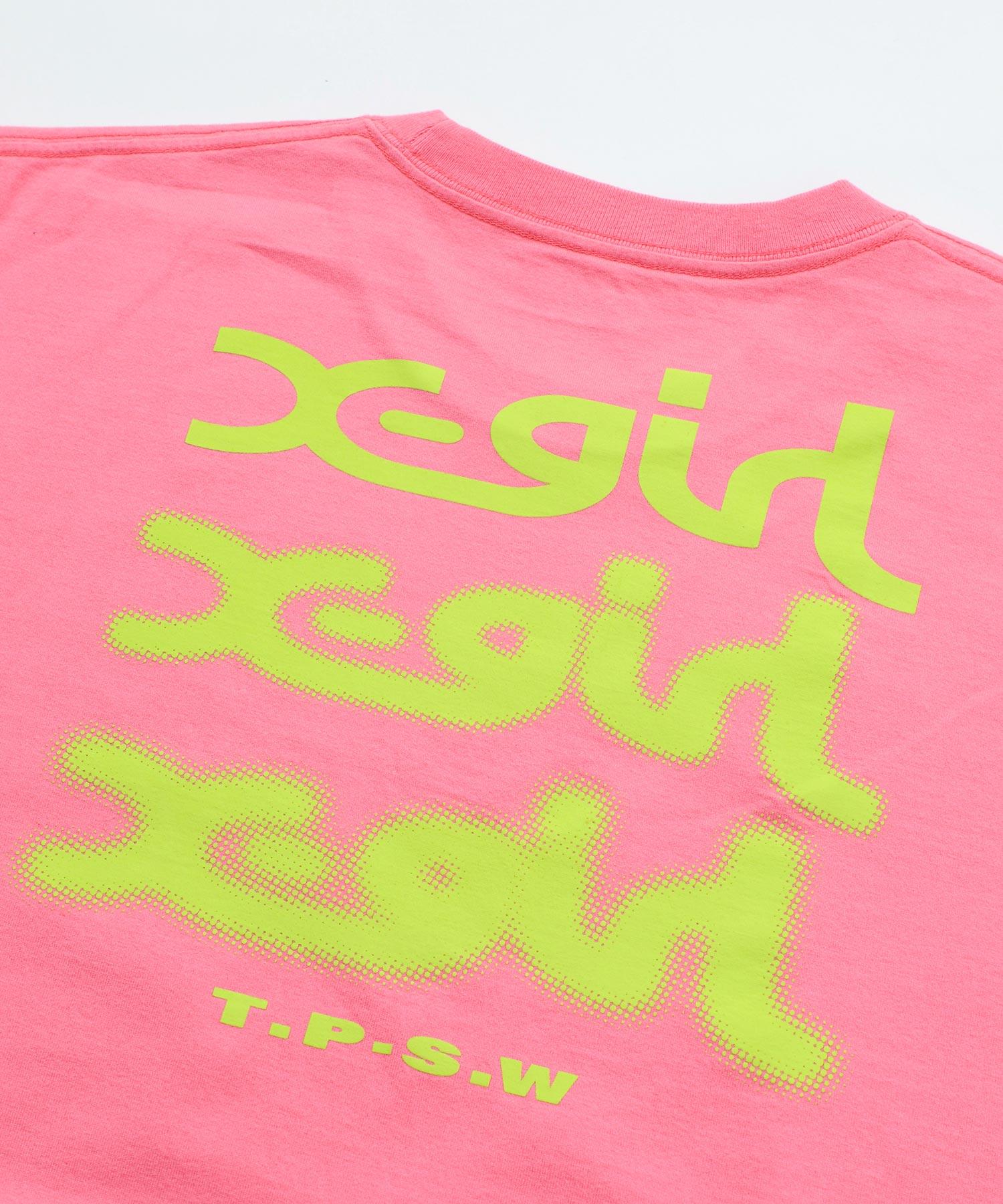 【公式】X-girl(エックスガール)GLOWLOGOS/STEEDRESS