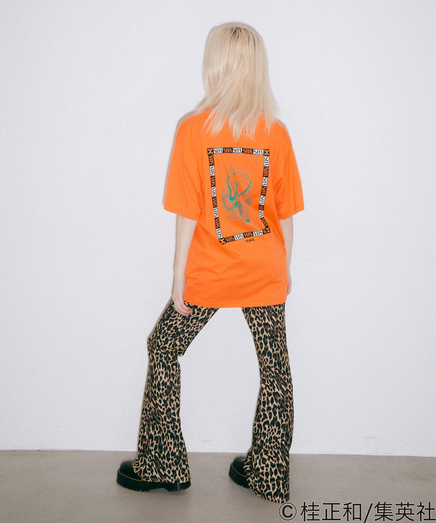 【公式】X-girlエックスガールX-girl×KATSURAMASAKAZUDENEISYOJYOSCENES/STEETシャツトップスプリントロゴショートスリーブコラボ
