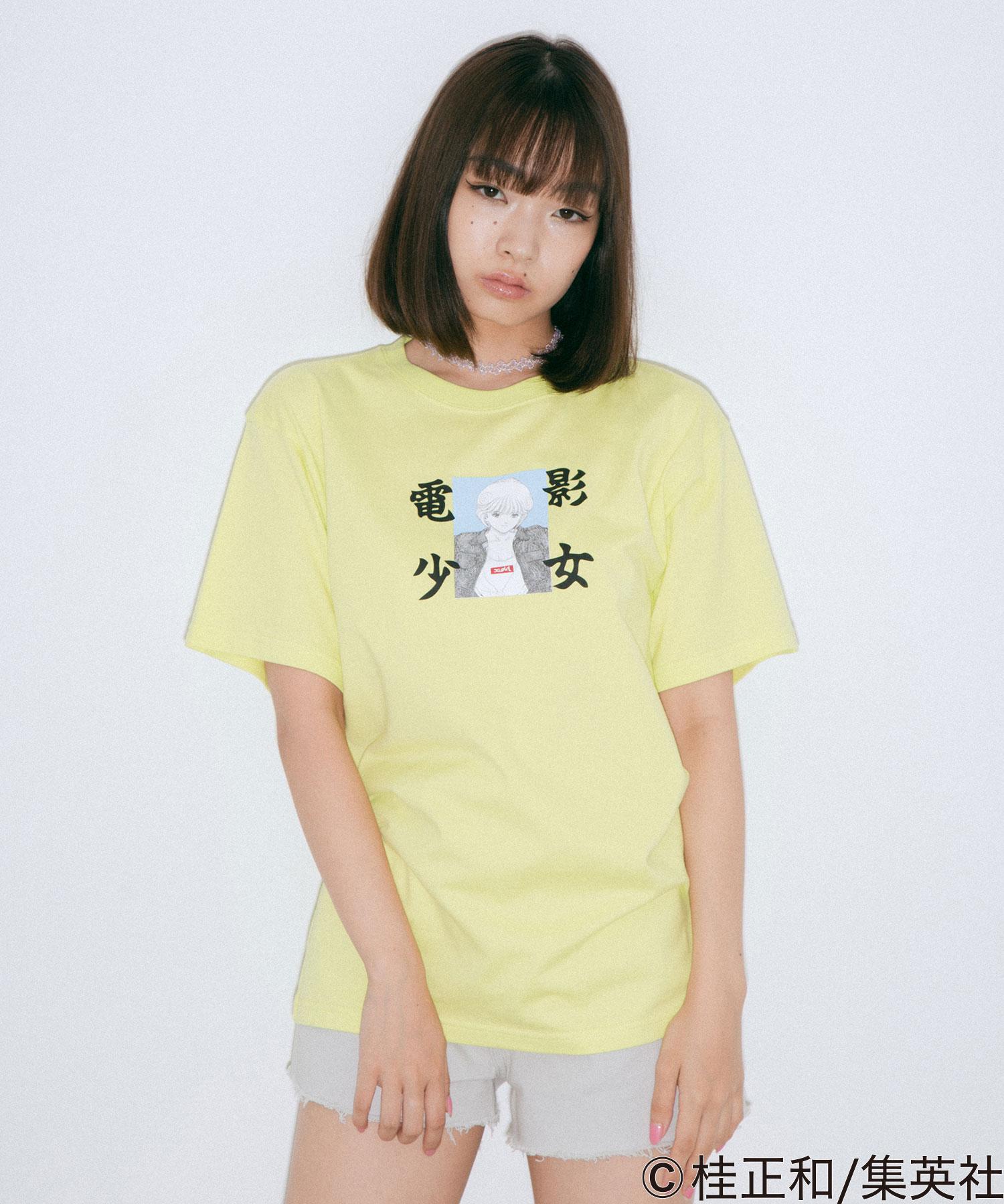 【公式】X-girlエックスガールX-girl×KATSURAMASAKAZUDENEISYOJYOS/STEETシャツトップスプリントロゴショートスリーブコラボ