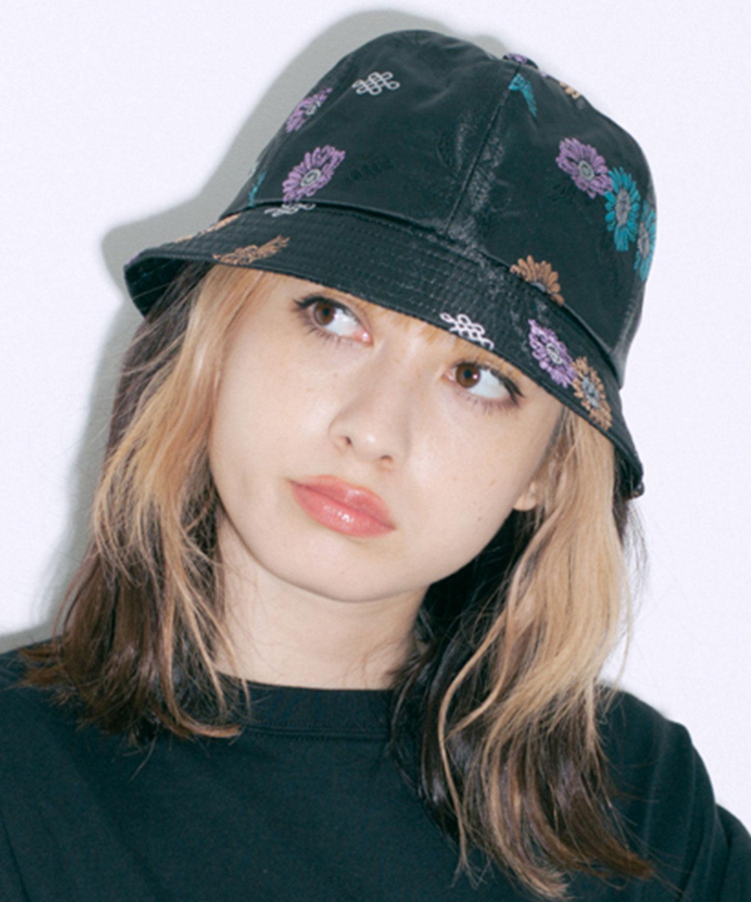 XLARGE X-girl公式SHOP 10 000円 税込 以上で送料無料 帽子 ハット 公式 X-girl 期間限定で特別価格 バケットハット JACQUARD エックスガール METRO CHINESE 買物 チャイニーズ HAT チャイナ ツバ ジャガード