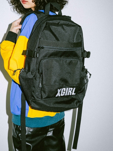 X-girl(エックスガール)CHEERFUL BACK PACK
