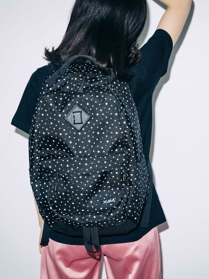 X-girl(エックスガール)【WEB限定】STAR BACKPACK