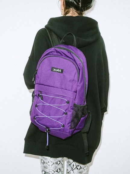 X-girl(エックスガール)LACEUP BACKPACK