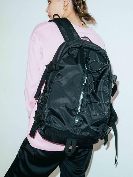 X-girl(エックスガール)ZIP LOGO BACKPACK