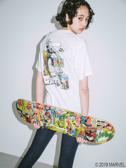 X-girl(エックスガール)【WEB限定 SKATE】X-girl ART MARVEL COMIC ART SKATE DECK DECK, 加治川村:82e49b71 --- officewill.xsrv.jp