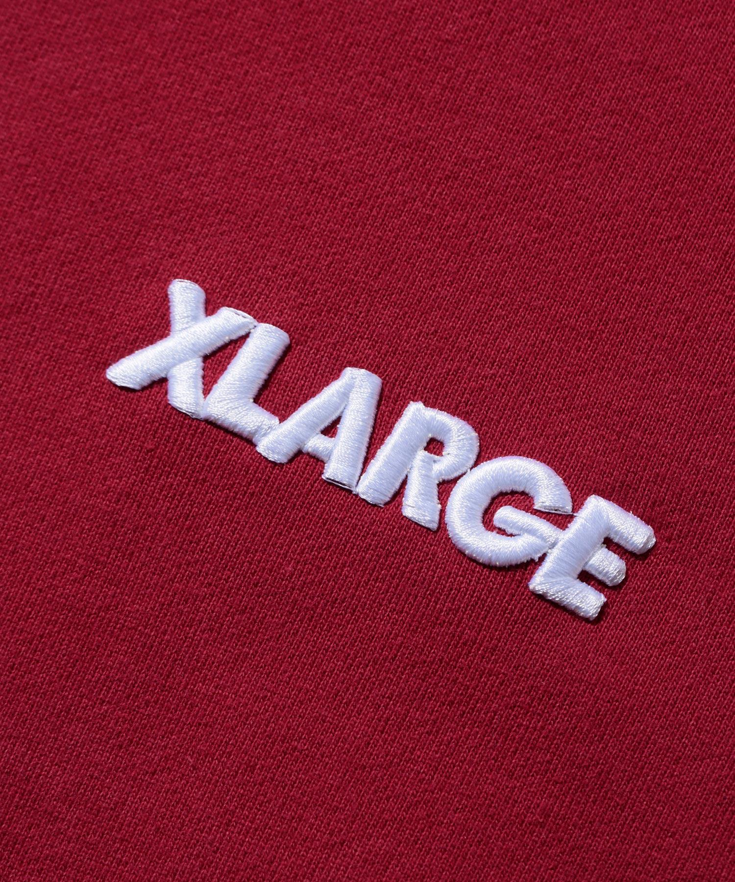 【公式】XLARGEエクストララージSTANDARDLOGOPULLOVERHOODEDSWEATパーカートップスフルオーバーフードスウェットロゴメンズ