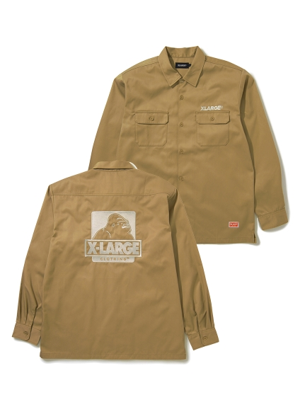 XLARGE(エクストララージ)L/S OG WORK SHIRT