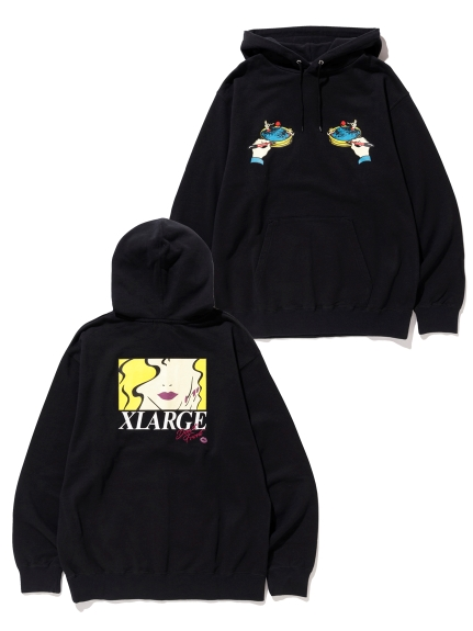 XLARGE(エクストララージ)MARRIAGE BLUE PULLOVER HOODED SWEAT