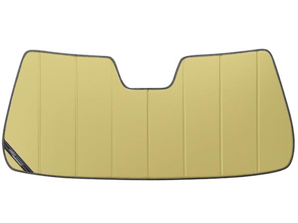 【専用設計】CoverCraft製/UVS100 サンシェード/日除け(ゴールド) 00-06y サバーバン/タホ/シルバラード/エスカレード/アバランチ カバークラフト
