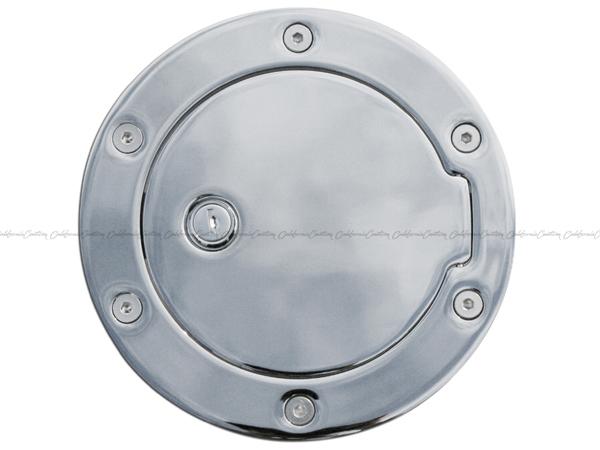 AMI ビレットタンクカバー/クローム(キー無) 6090C/07-11y アバランチ、サバーバン、ユーコンXL、ユーコンデナリXL、エスカレードESV/EXT