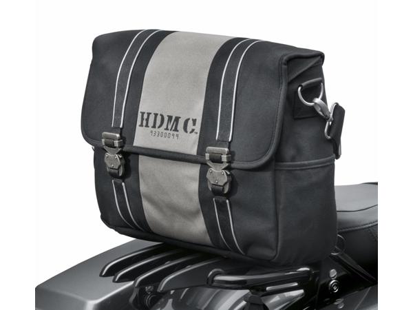 Harley-Davidson / ハーレーダビッドソン HDMC メッセンジャーバッグ ブラック