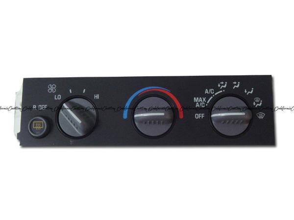 AC DELCO / AC デルコ A/Cコントロールパネル 15-72216(1995-2005y シボレー アストロ、GMC サファリ)
