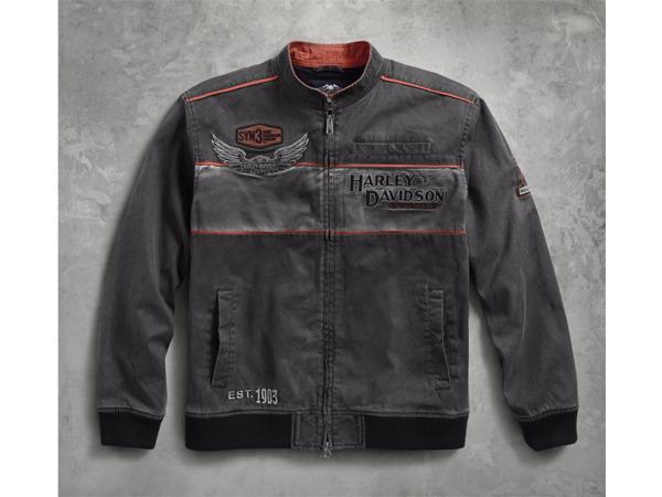 Harley-Davidson / ハーレーダビッドソン アイアンブロック・カジュアルジャケット(M)