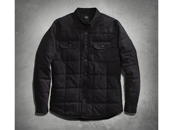 Harley-Davidson / ハーレーダビッドソン キルトシャツジャケット(S)