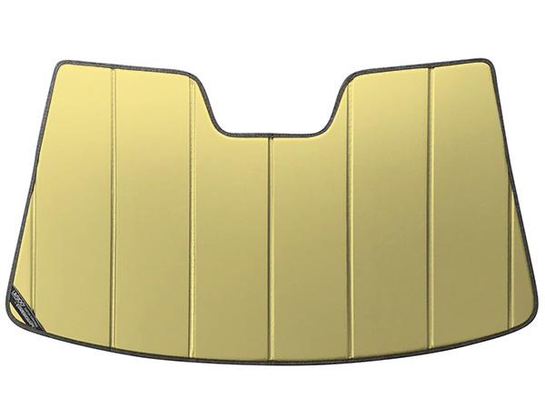 【専用設計】CoverCraft製/UVS100 サンシェード/日除け(ゴールド) VW フォルクスワーゲン ゴルフ6 ヴァリアント TSI/GTI/R カバークラフト MADE IN USA