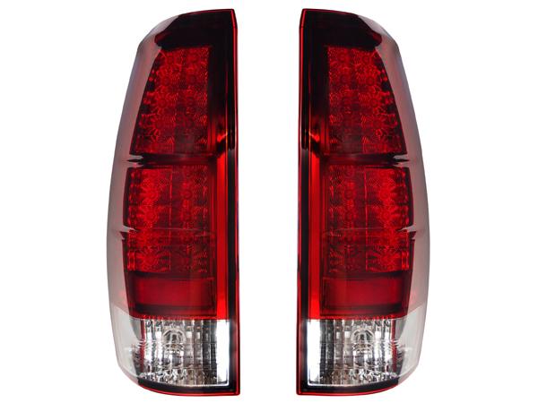 2007-2013y シボレー アバランチ LEDテールランプ(レッド/クリア) G3