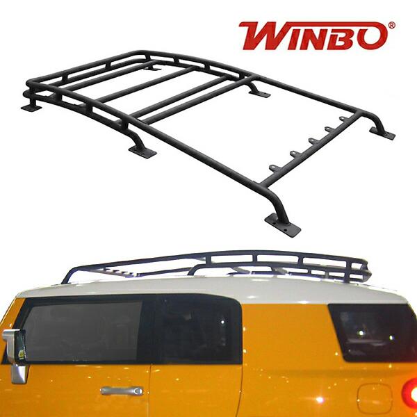 WINBO製 2007y- トヨタ FJクルーザー ルーフラックキット(ブラック)
