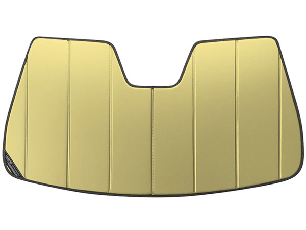 【専用設計】CoverCraft製/UVS100 サンシェード/日除け(ゴールド) MASERATI マセラティ ギブリ Ghibli S/SQ4 カバークラフト MADE IN USA