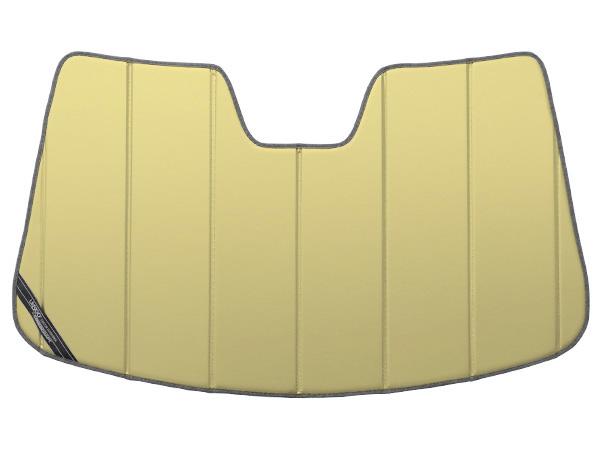 【専用設計】CoverCraft製/UVS100 サンシェード/日除け(ゴールド) 07-13y Volvo C30(MB系) カバークラフト MADE IN USA