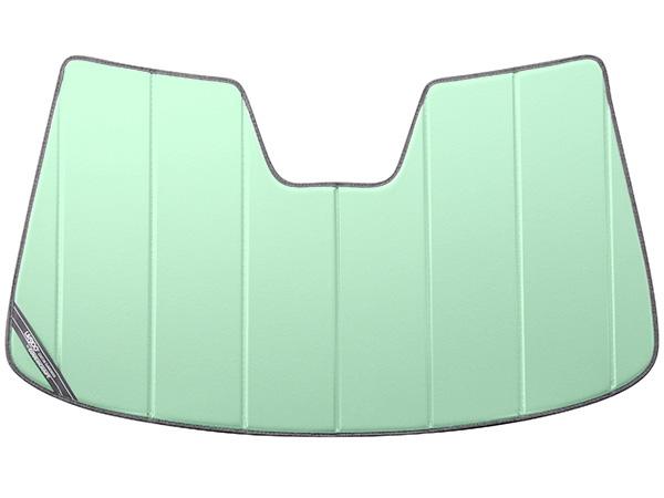 【専用設計】CoverCraft製/UVS100 高品質 サンシェード/日除け(グリーンアイス) 2007-2011y VOLVO ボルボ XC70、12-16y S80 カバークラフト MADE IN USA