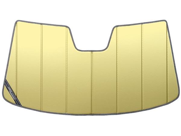 【専用設計】CoverCraft製/UVS100 高品質 サンシェード/日除け(ゴールド) 19y- フォルクスワーゲン アルテオン(3HDJHF) カバークラフト MADE IN USA