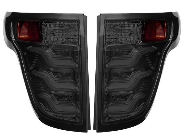 【Torcia】 2011-2015y フォード エクスプローラー ファイバー LEDテール(スモーク)