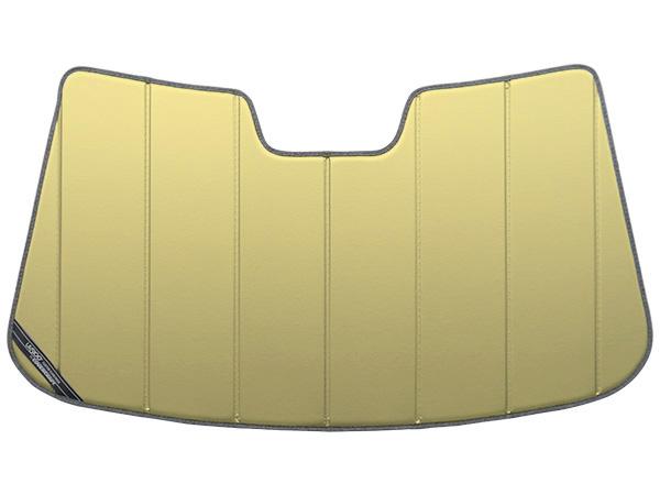 【専用設計】CoverCraft製/UVS100 サンシェード/日除け(ゴールド) 2007-2017y VOLVO ボルボ V70(BB系) カバークラフト MADE IN USA