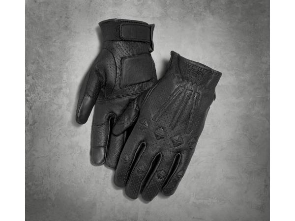 Harley-Davidson / ハーレーダビッドソン #1スカル・パーフォレイテッド・グローブ(XL)