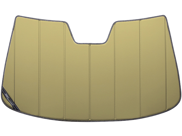 【専用設計】CoverCraft製/UVS100 サンシェード/日除け(ゴールド) 17-18y キャデラック XT5 クロスオーバー カバークラフト MADE IN USA