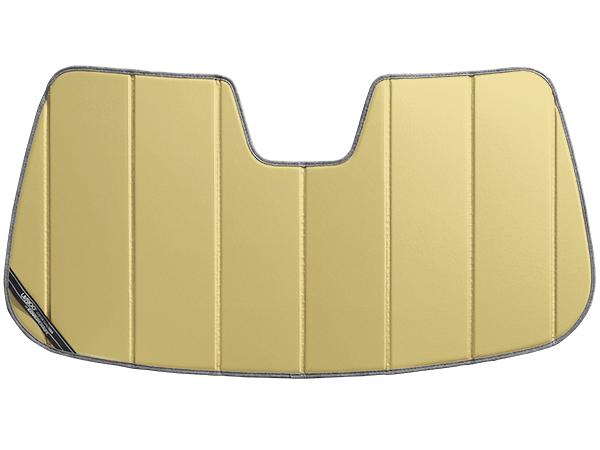 【専用設計】CoverCraft製/UVS100 高品質 サンシェード/日除け(ゴールド) 17y- BMW X3 カバークラフト MADE IN USA