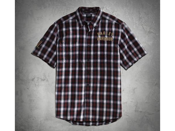 Harley-Davidson / ハーレーダビッドソン ジェニュイン・クラシックス#1プレイドシャツ(S)