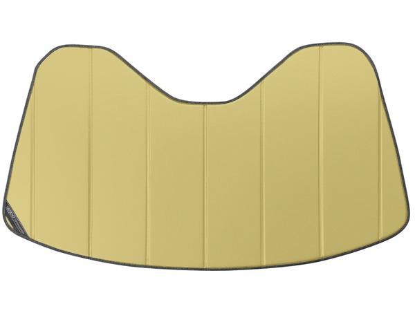 【専用設計】CoverCraft製/UVS100 サンシェード/日除け(ゴールド) 14-18y シボレー C7 コルベット カバークラフト MADE IN USA
