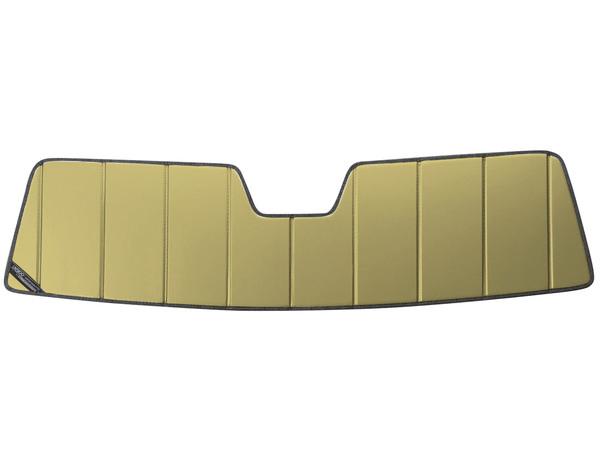 【専用設計】CoverCraft製/UVS100 サンシェード/日除け(ゴールド) 03-09y ハマーH2 HUMMER SUT カバークラフト MADE IN USA