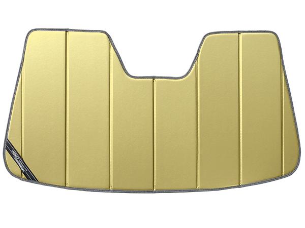 【専用設計】CoverCraft製/UVS100 高品質 サンシェード/日除け(ゴールド) 13y- TOYOTA ハリアー(60系) カバークラフト MADE IN USA