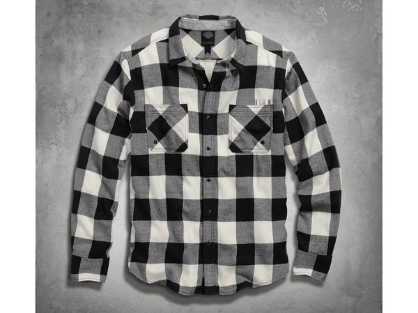 Harley-Davidson / ハーレーダビッドソン バッファローチェックシャツ(L)