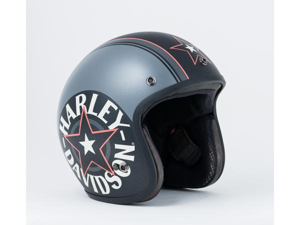 Harley-Davidson / ハーレーダビッドソン グレースター3/4ヘルメット(XL)